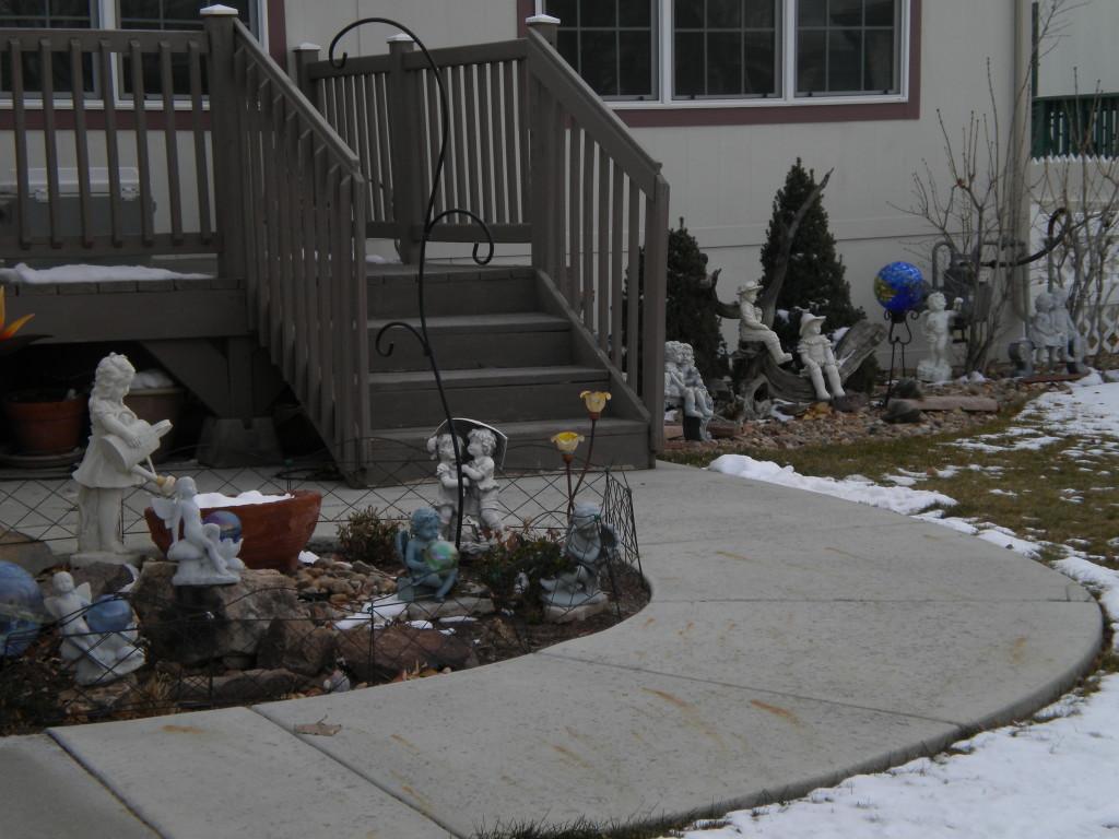 more diversity in yard art