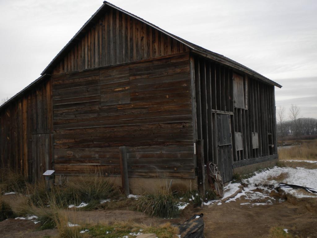 Sandstone Ranch barn