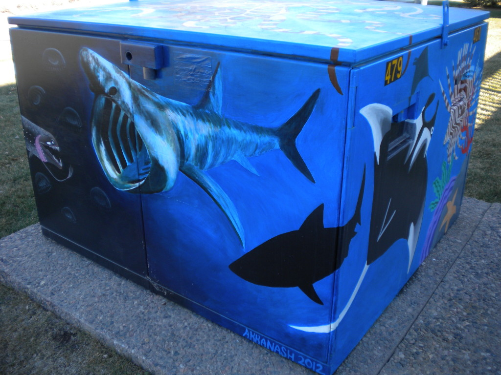 Aquatic Electrical Box # 1