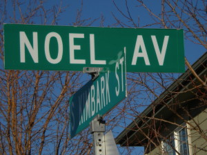 Every day is Christmas day on Noel Avenue!