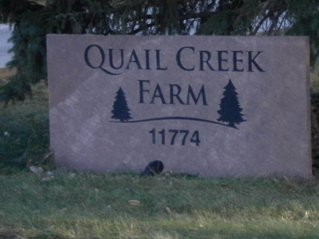 East Quail Road --- Quail Creek Farm