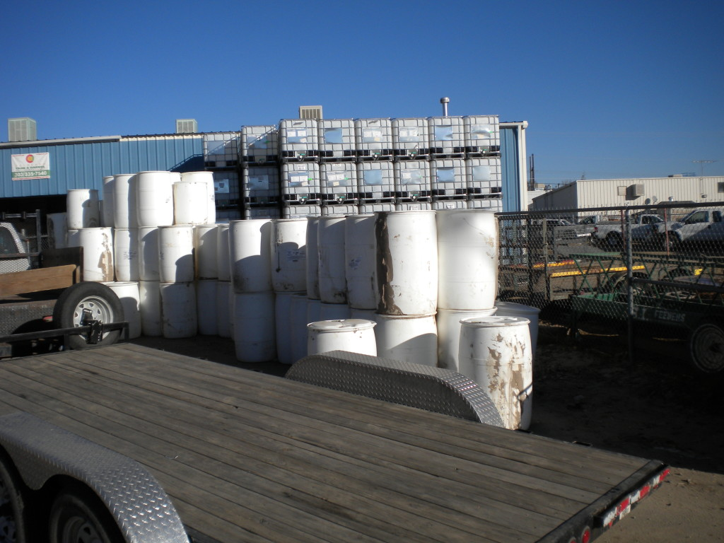 vats and containers