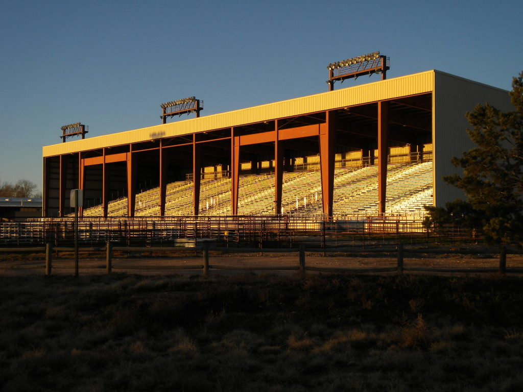 Jack Murphy Arena (east side)