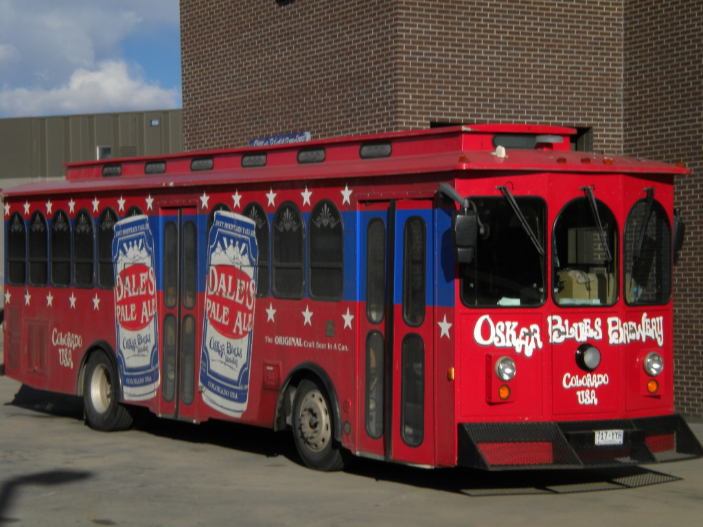 Oskar Blues newer bus