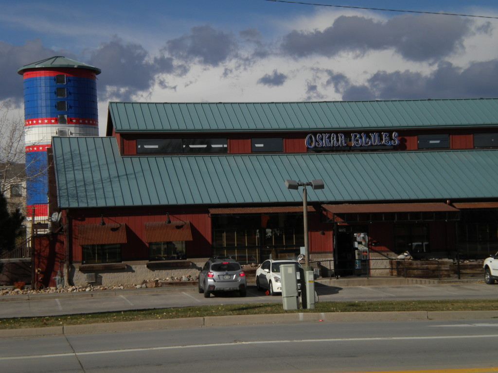Oskar Blues restaurant (used to be 'The Silo')