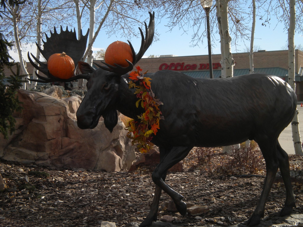 Beware a moose bearing gifts...