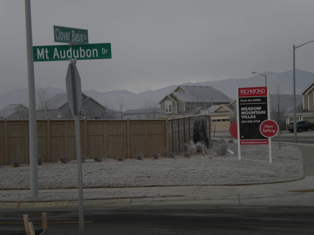 Mt. Audubon divides two new areas