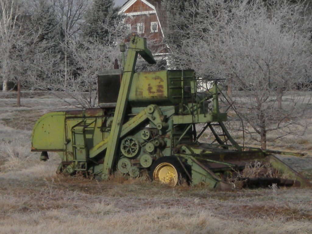 old combine?
