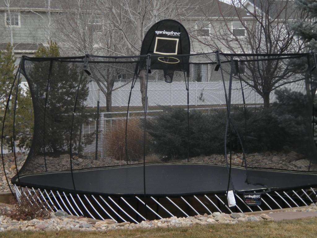 sunken trampoline # 1