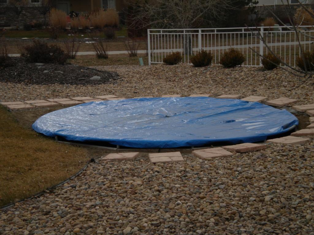 sunken trampoline # 2